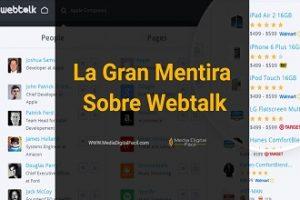 La Gran Mentira Sobre Webtalk