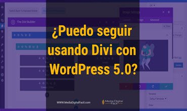 ¿Puedo seguir usando Divi con WordPress 5.0?
