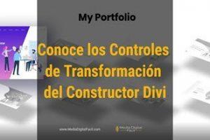 Conoce los Controles de Transformación del Constructor Divi-Blog