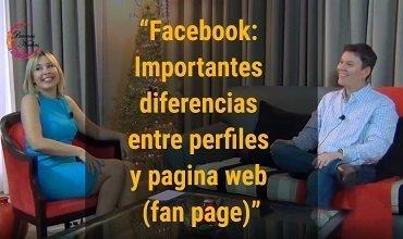 Facebook: las importantes diferencias entre perfiles y paginas web (fan page)