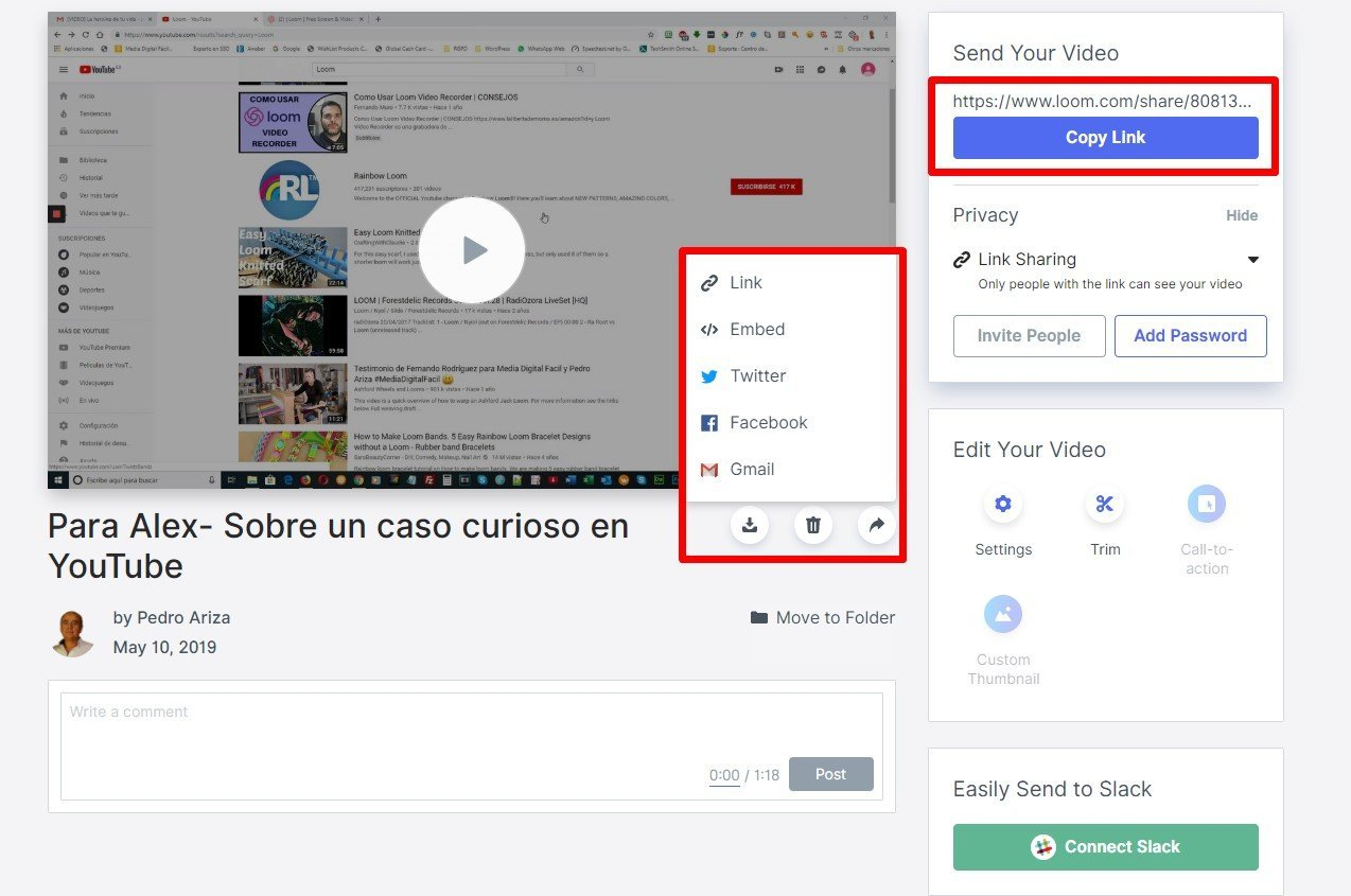 Como aumentar tu productividad con Loom Video Recorder