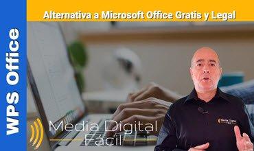 Alternativa a Microsoft Office Gratis y Legal