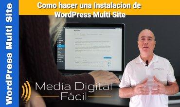 Como hacer una instalación automática de WordPress Multi Site