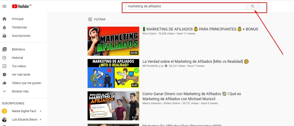 Encontrar resultados con con la licencia Creative Commons